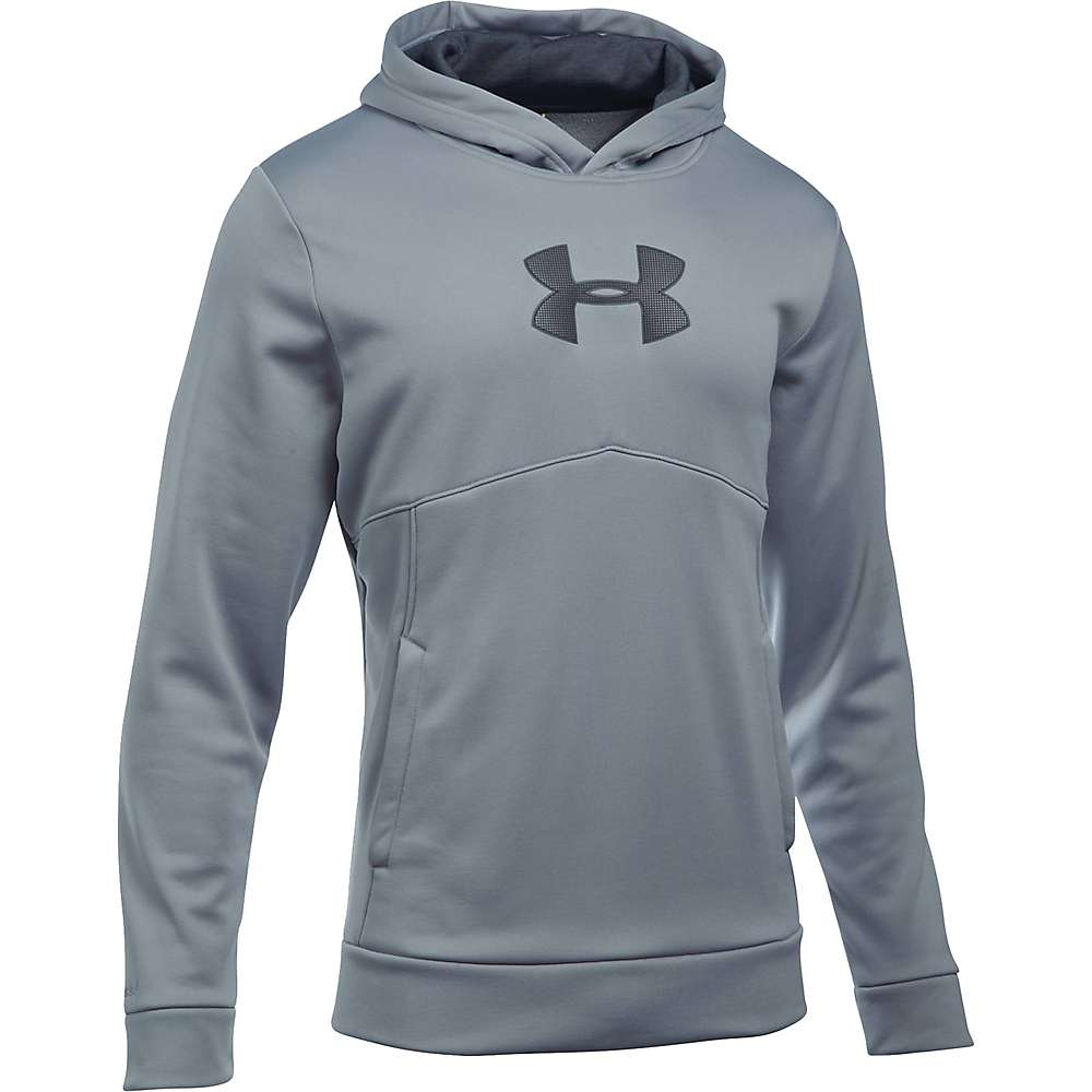 Under Armour Men's The New UA Logo Hoodie - XL - Steel / Stealth Gray / Stealth Gray