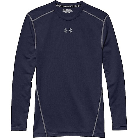 Under Armour Men's UA ColdGear Armour Crew Top Midnight Navy / Steel