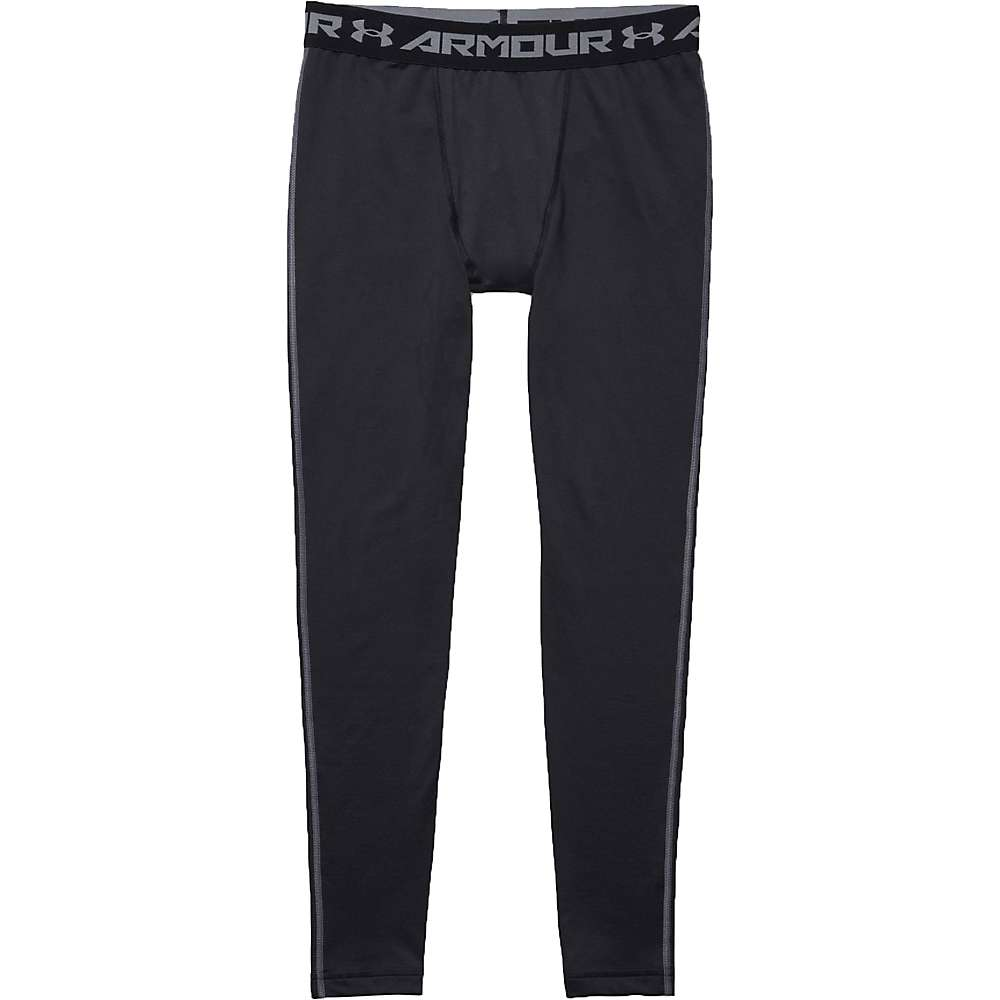 Under Armour Men's UA ColdGear Armour Legging - Large - Black / Steel