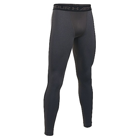 Under Armour Men's UA ColdGear Armour Legging Carbon Heather / Black