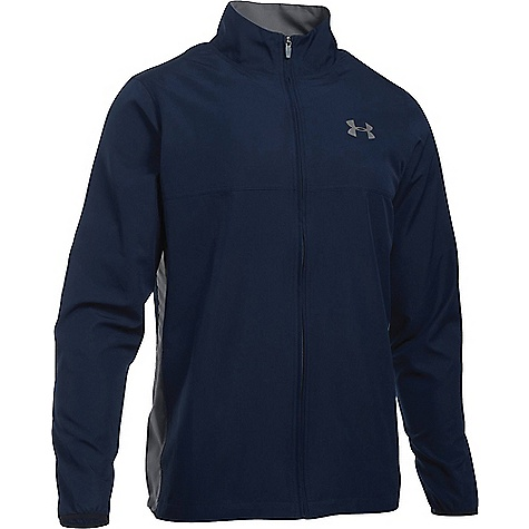 Under Armour Men's UA Vital Woven Warm-Up Jacket Midnight Navy / Graphite / Graphite