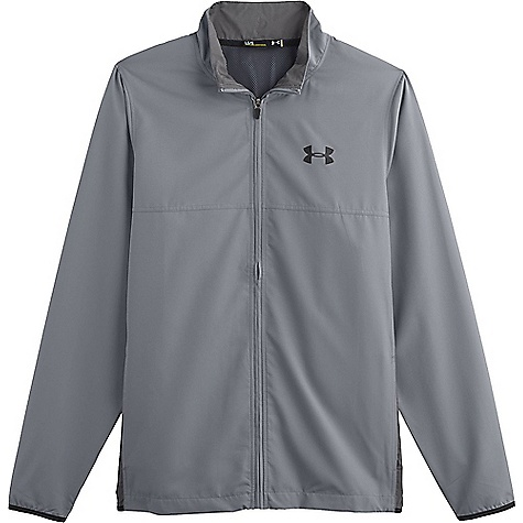 Under Armour Men's UA Vital Woven Warm-Up Jacket Steel / Graphite / Black