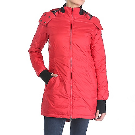 Canada Goose Women's Stellarton Coat Red