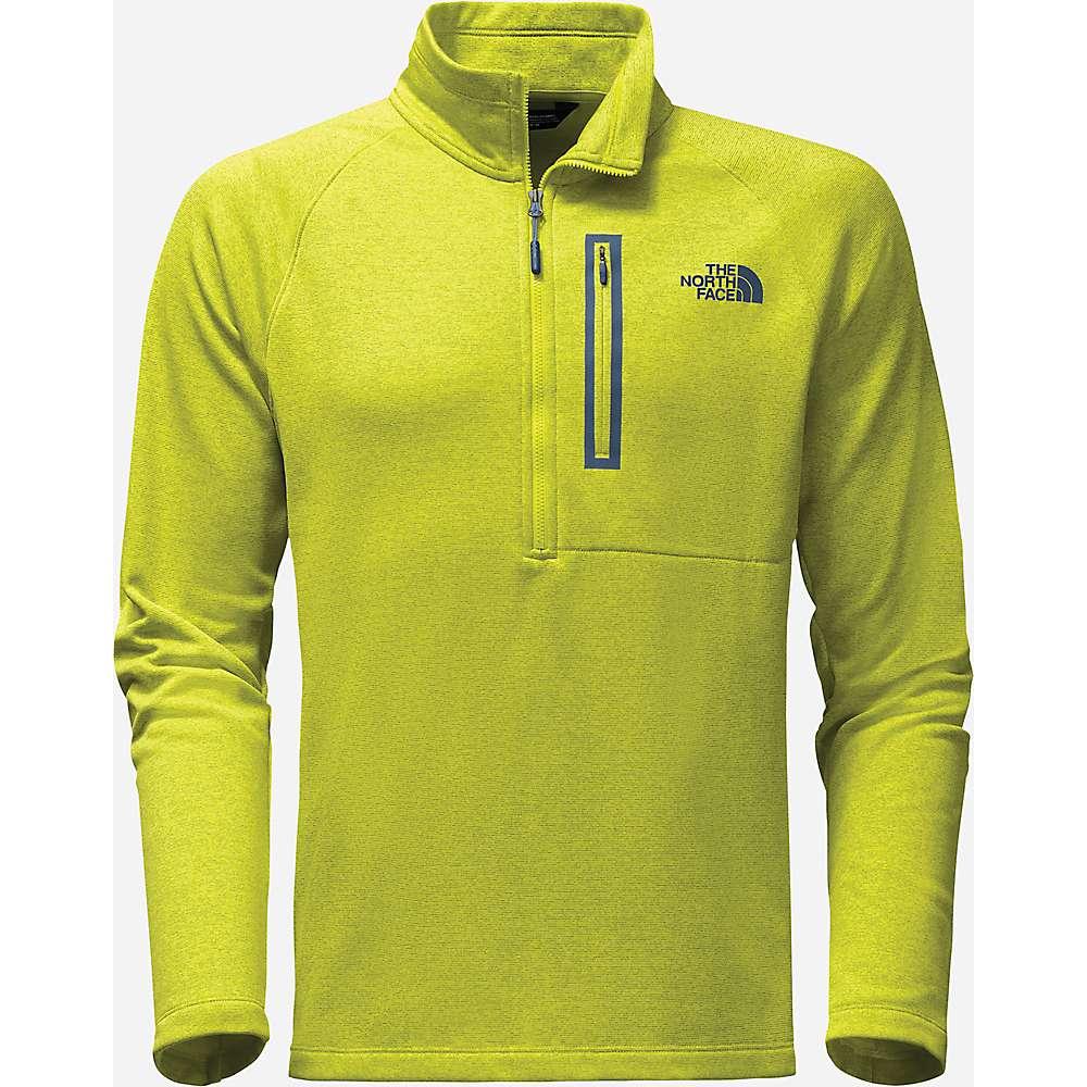 The North Face Men's Canyonlands 1/2 Zip Top - XL - Sulphur Spring Green Heather