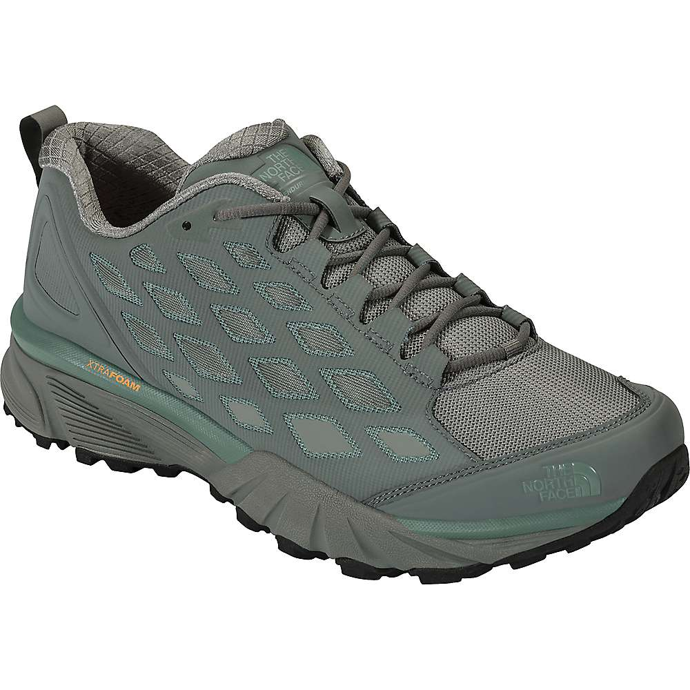 The North Face Women's Endurus Hike Shoe - 8 - Sedona Sage Grey / Trellis Green
