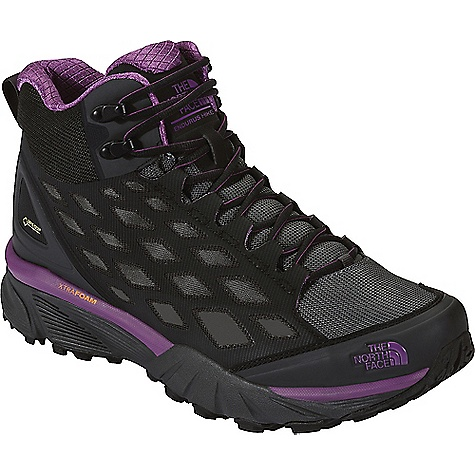 The North Face Women's Endurus Hike Mid GTX Shoe Phantom Grey / Wood Violet