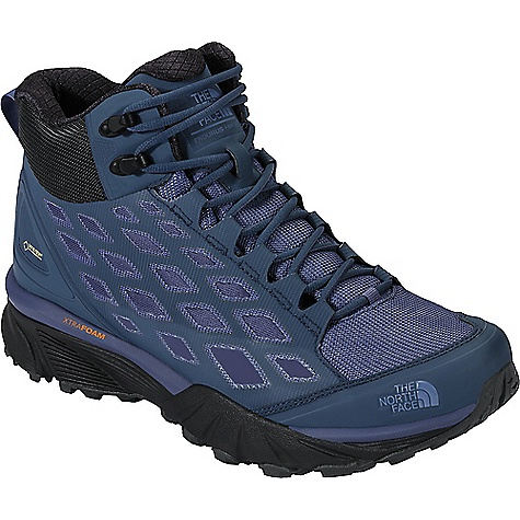 The North Face Women's Endurus Hike Mid GTX Shoe Shady Blue / Coastal Fjord Blue