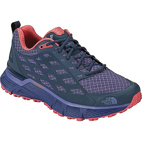 The North Face Women's Endurus TR Shoe Coastal Fjord Blue / Cayenne Red