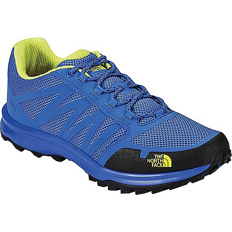 The North Face Men's Litewave Fastpack Shoe Blue Quartz / Lantern Green