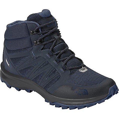 The North Face Men's Litewave Fastpack Mid Waterproof Shoe Urban Navy / Shady Blue