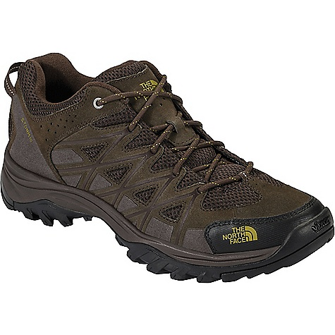 The North Face Men's Storm III Shoe Coffee Brown / Antique Moss Green