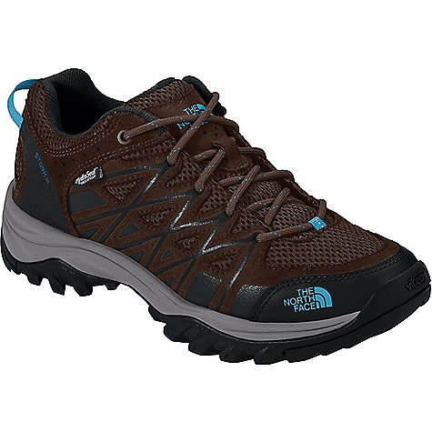 The North Face Women's Storm III Waterproof Shoe Demitasse Brown / Hyper Blue