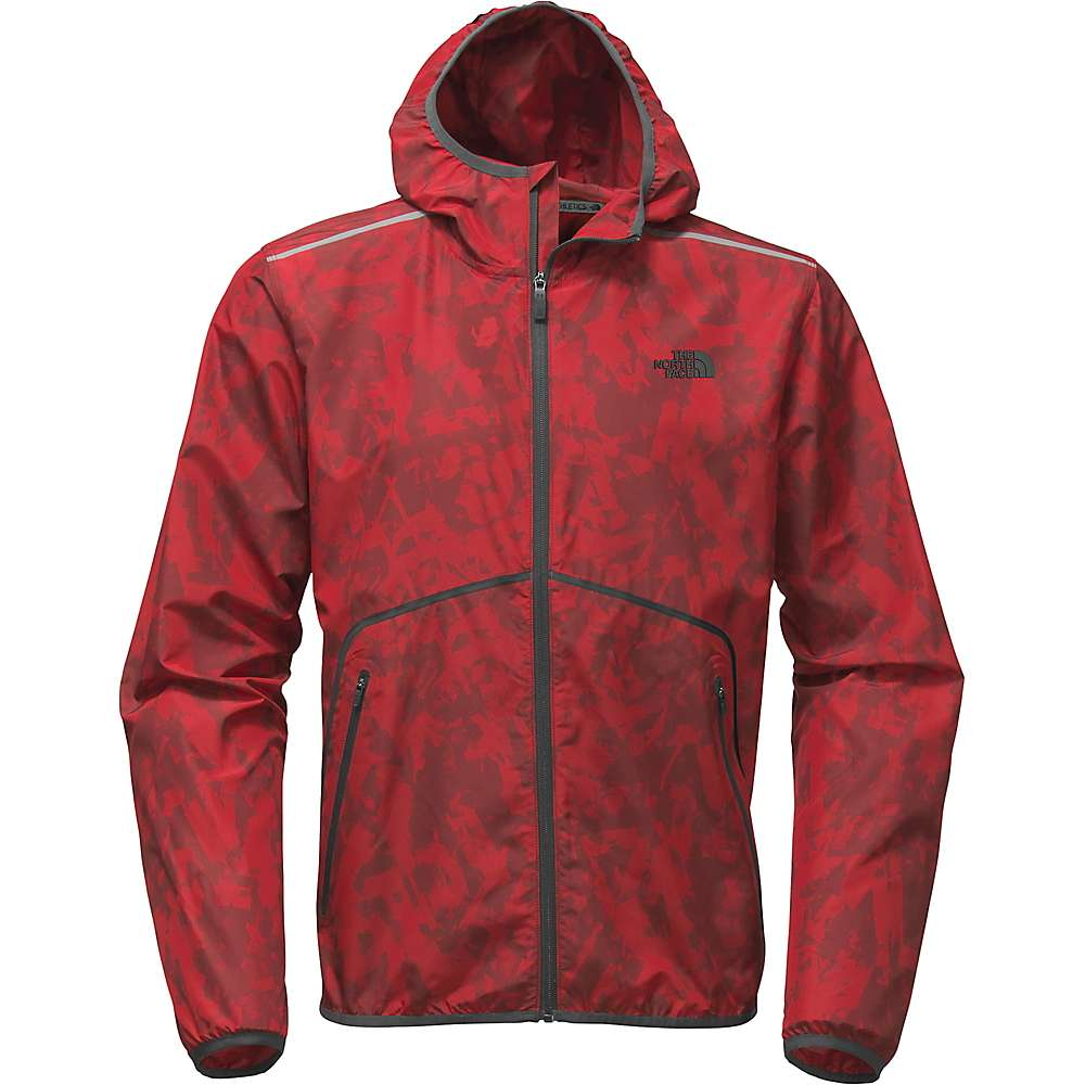 The North Face Men's Zephyr Wind Trainer Hoodie - Small - Cardinal Red / TNF Black