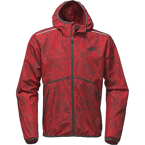 The North Face Men's Zephyr Wind Trainer Hoodie Cardinal Red / TNF Black
