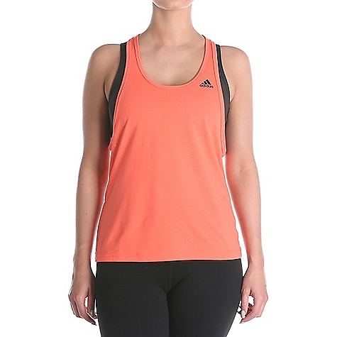 Adidas Women's Ultimate Tank Easy Coral / Black