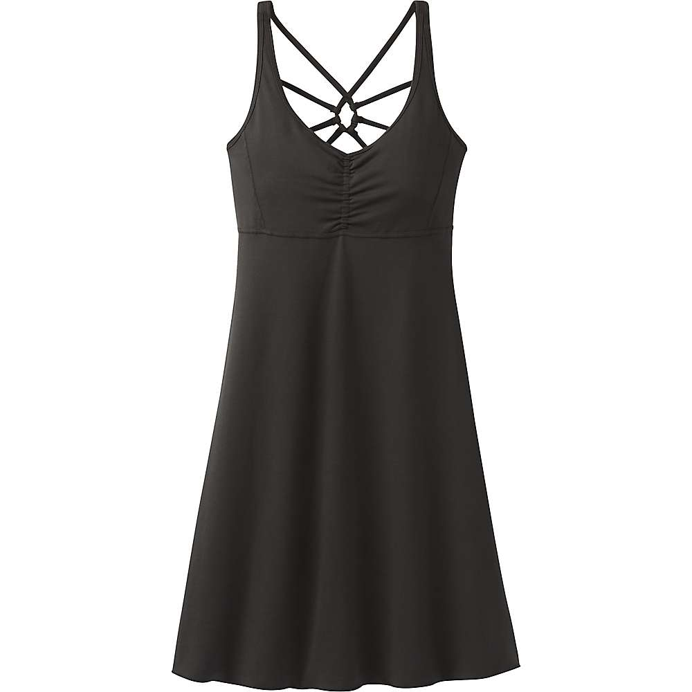 Prana Women's Dreaming Dress - Medium - Black