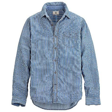 Timberland Men's Long Sleeve Parker River Double Layer Shirt 7013J