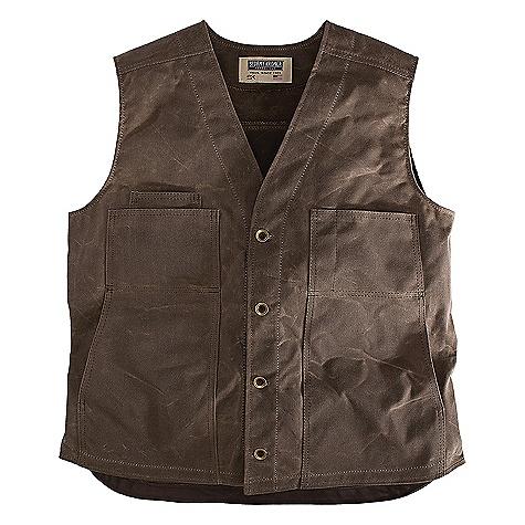 Stormy Kromer Waxed Button Vest