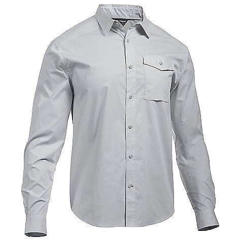 Under Armour Men's UA Backwater LS Shirt Glacier Grey / White