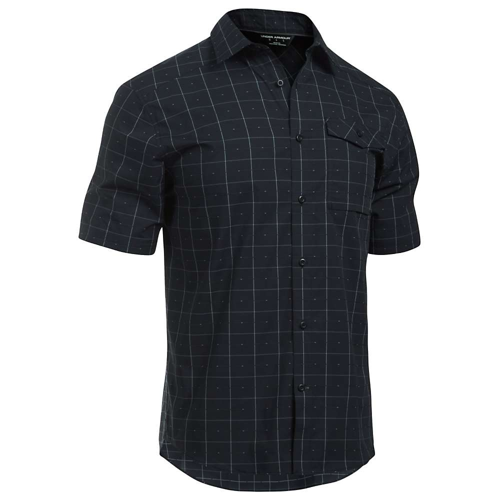 Under Armour Men's UA Backwater SS Shirt - XXL - Black / White