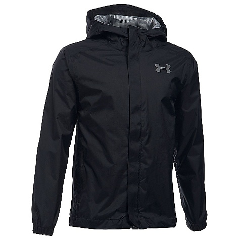 Under Armour Boys' UA Bora Jacket Black / Graphite / Graphite
