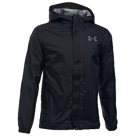Under Armour Boys' UA Bora Jacket Black / Graphite / Graphite