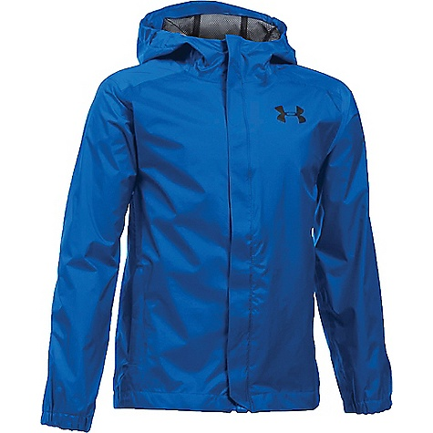 Under Armour Boys' UA Bora Jacket Ultra Blue / Black / Black