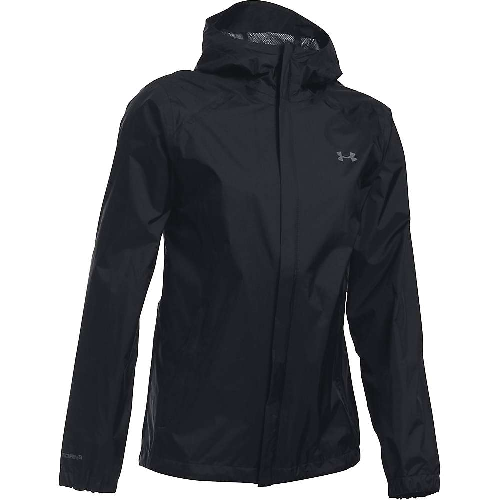 Under Armour Women's UA Bora Jacket - Small - Black / Black / Graphite