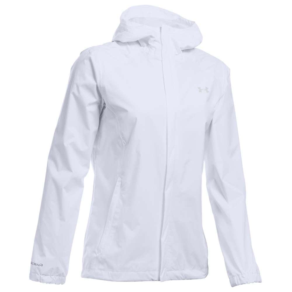 Under Armour Women's UA Bora Jacket - XS - White / Glacier Grey / Glacier Grey