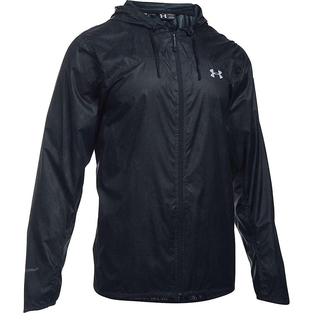 Under Armour Men's UA Leeward Windbreaker Jacket - XL - Stealth Grey / Black / Overcast Grey