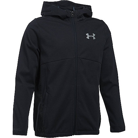 Under Armour Boys' UA Spring Swacket Black / Reflective