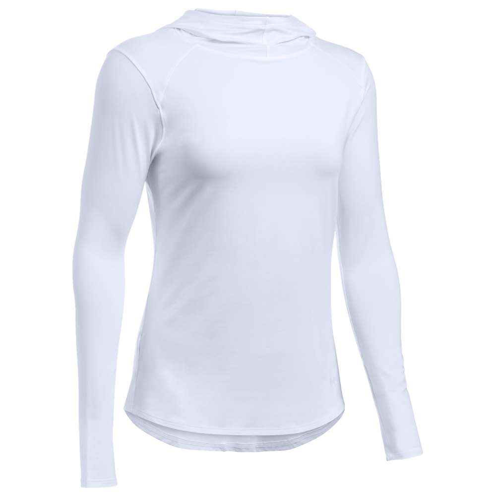 Under Armour Women's UA Sunblock Hoodie - XS - White / White