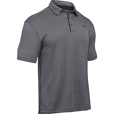 Under Armour Men's UA Tech Polo Graphite / Black / Black
