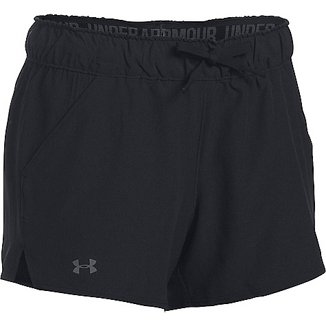 Under Armour Women's UA Turf and Tide Short Black / Black / Graphite