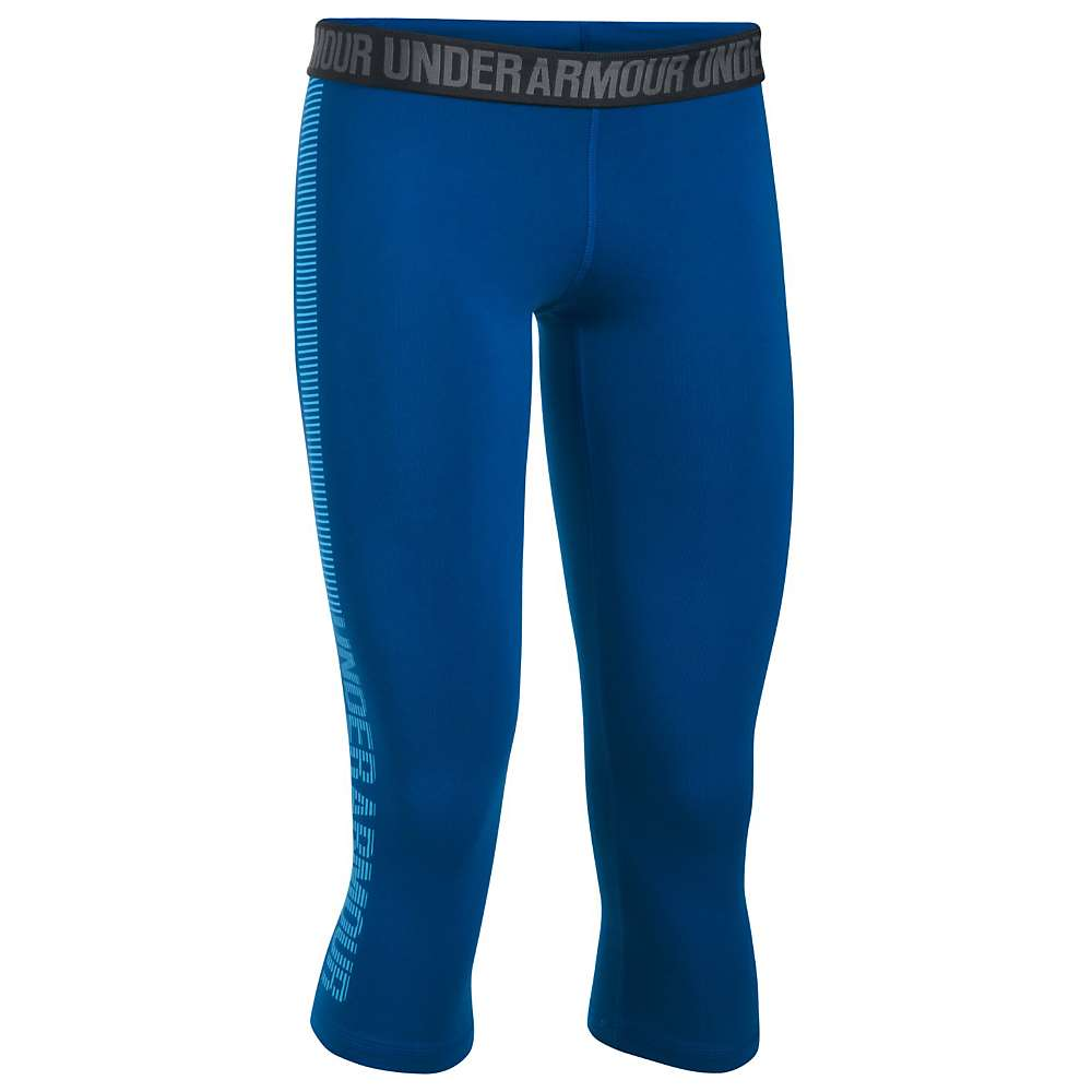 Under Armour Women's UA Favorite Graphic Capri - Small - Royal / Carolina Blue / Carolina Blue