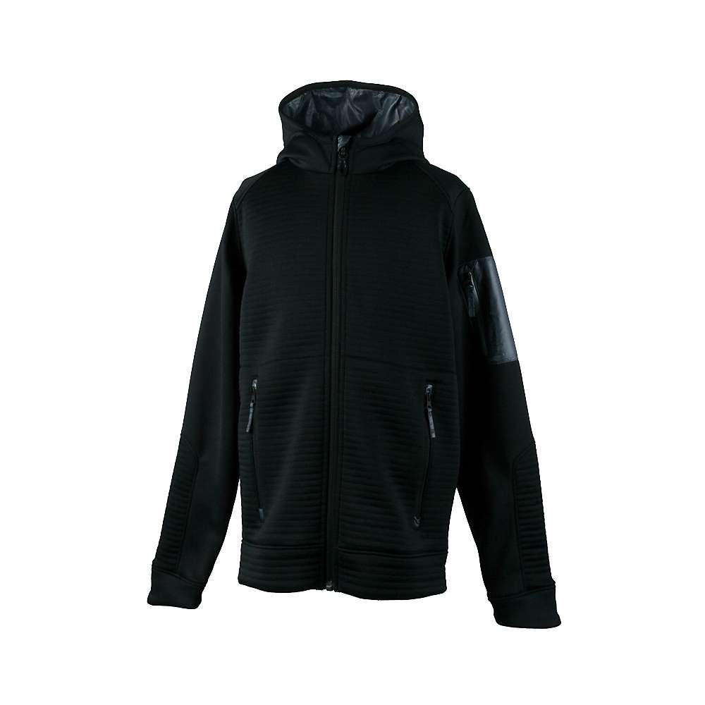 Obermeyer Boys' Match Fleece Hoodie - XL - Black