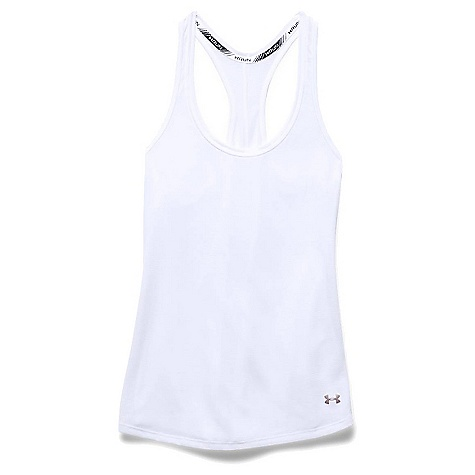 Under Armour Women's Threadborne Streaker Tank Top White / Reflective