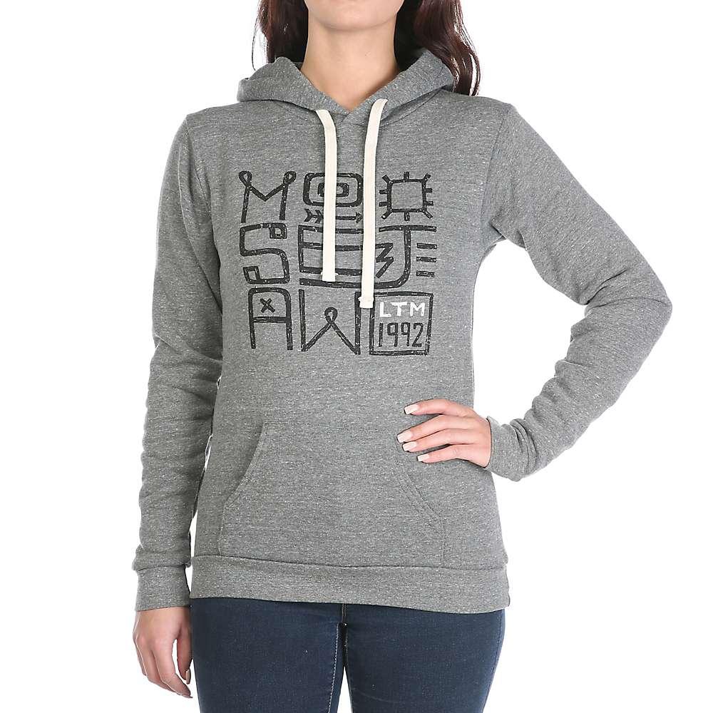 Moosejaw Women's Twist and Shout Pullover Hoody - XL - Heather Grey