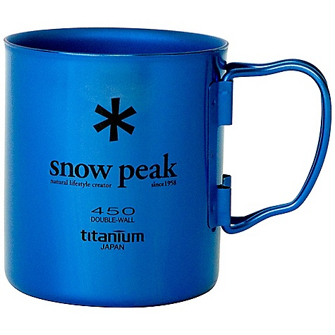 Snow Peak Titanium Double Wall Cup MG-053PR-US