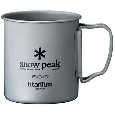 Snow Peak Titanium Single Wall Cup 600