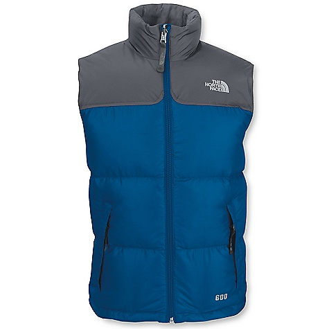 photo: The North Face Boys' Nuptse Vest down insulated vest