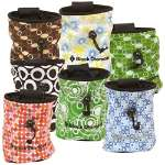 Black Diamond Print Chalk Bags