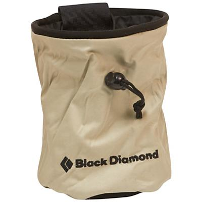 Black Diamond Chalk Bag with Zippered Pocket