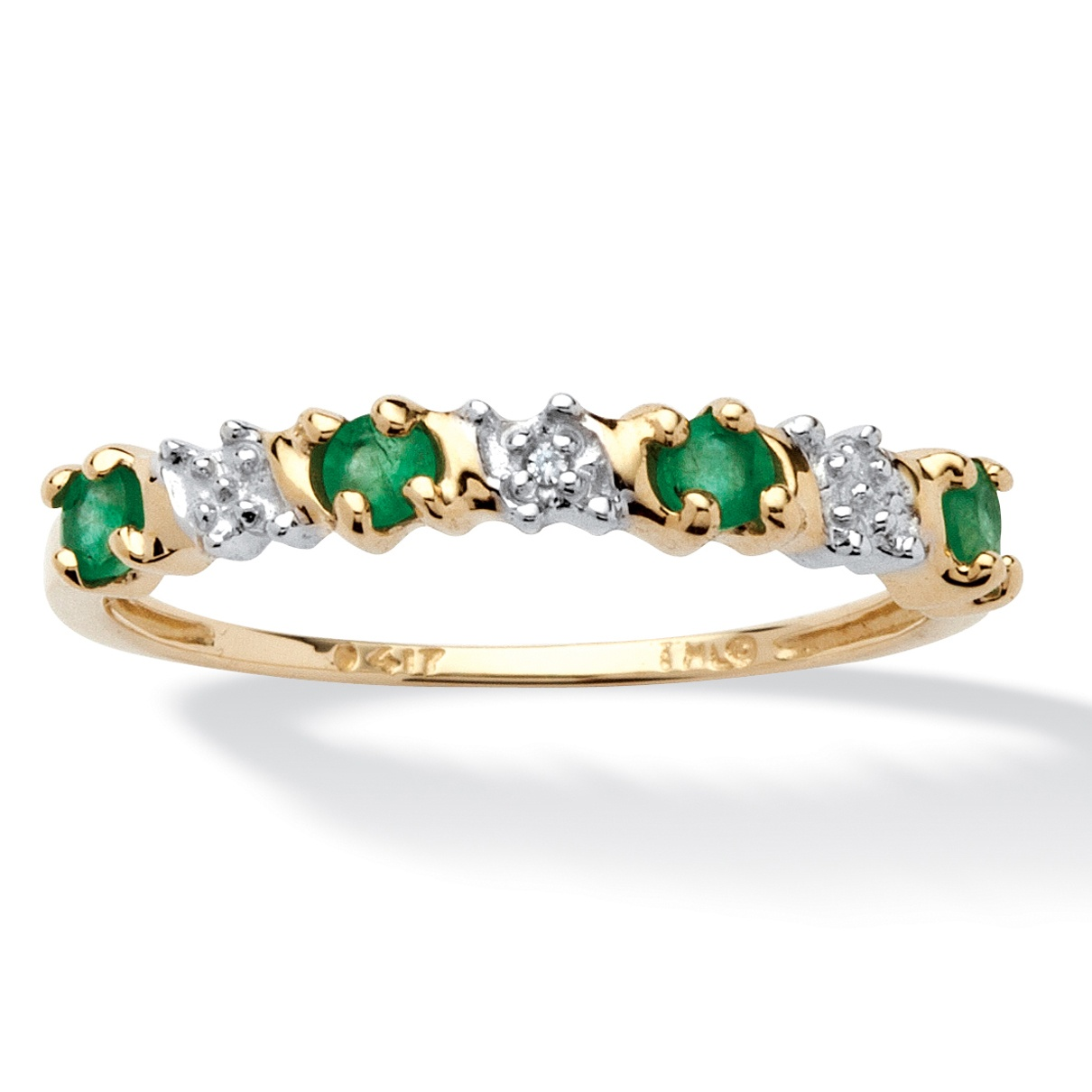 palmbeach jewelry 32 tcw genuine emerald and