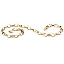Rolo-Link Bracelet in 10k Gold