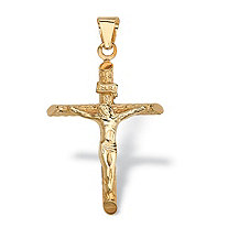 Crucifix Pendant in 14k Gold