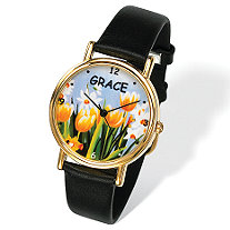 Personalized Flower Watch 7