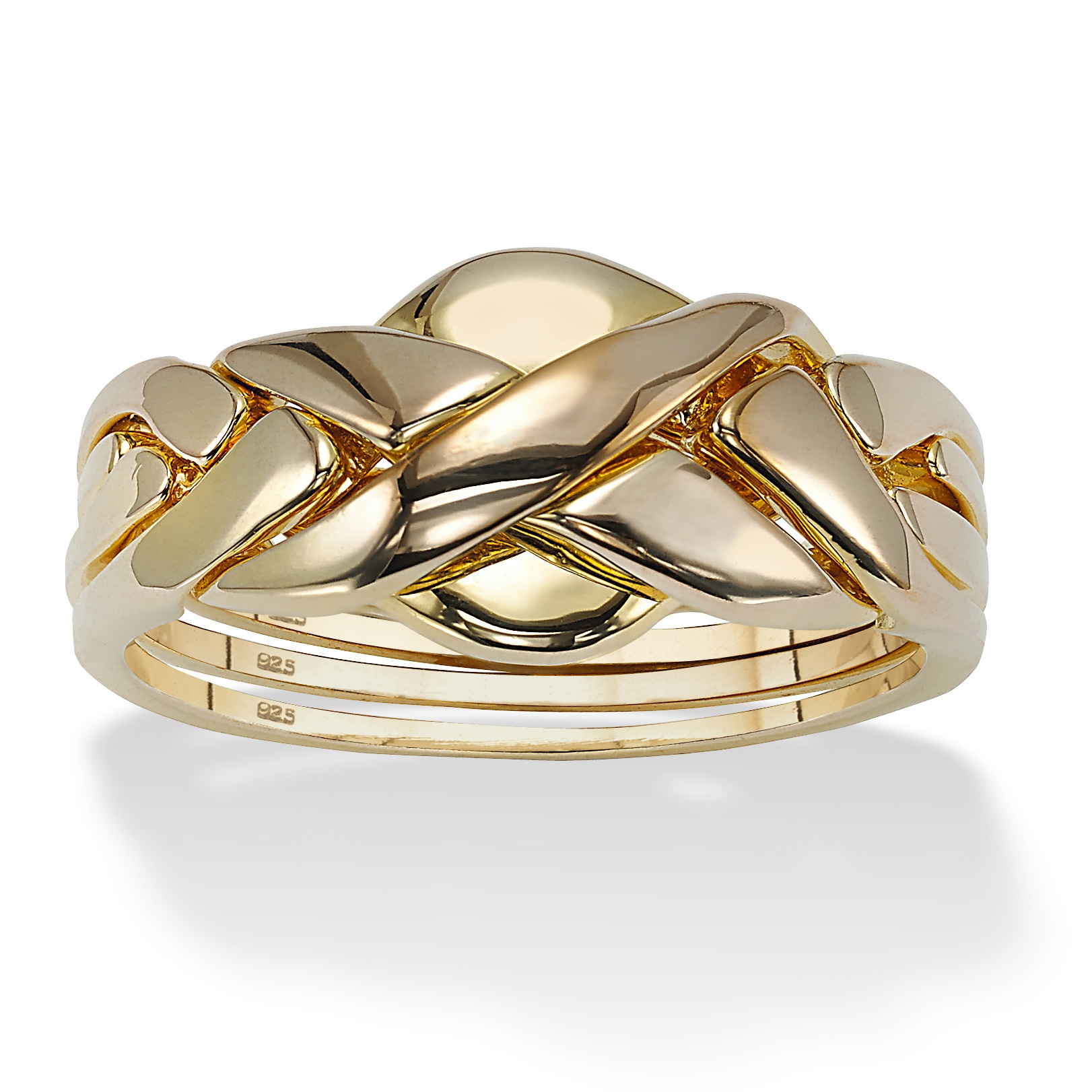 palmbeach jewelry 18k yellow gold 925 sterling silver