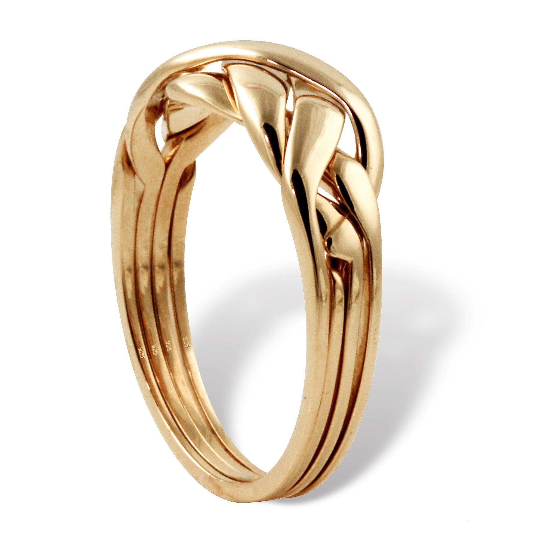 palmbeach jewelry 18k yellow gold 925 sterling silver