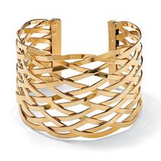 Lattice Cuff Bracelet 7 1/2